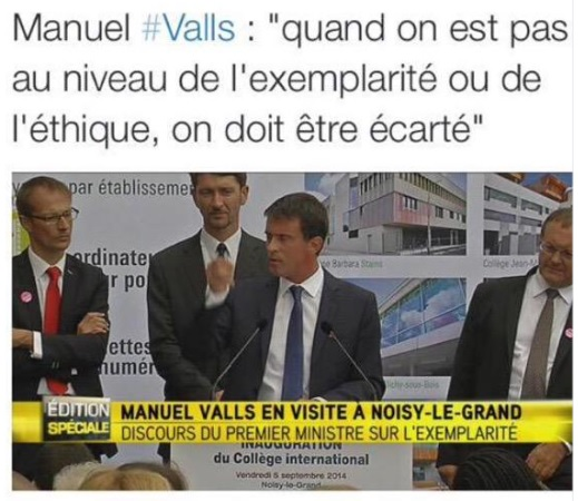 Valls saloperie