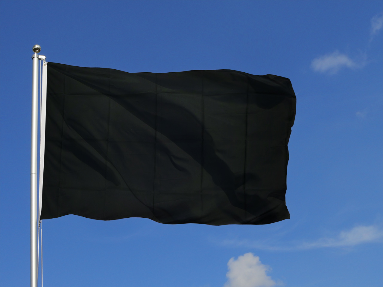 drapeau noir